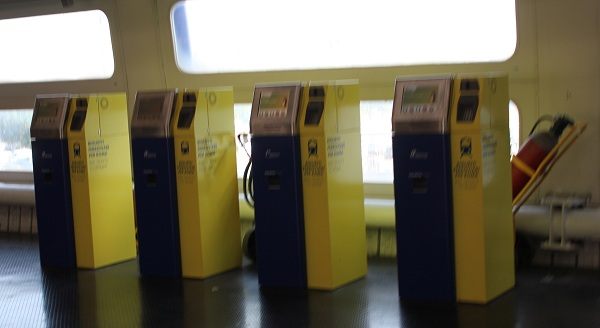 IMG 4440a New FCO kiosks Leonardo Express – The Trenitalia Nonstop Train to the Fiumicino (FCO) Airport
