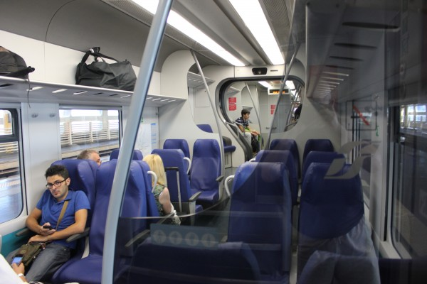 IMG 4465 600x400 Leonardo Express – The Trenitalia Nonstop Train to the Fiumicino (FCO) Airport