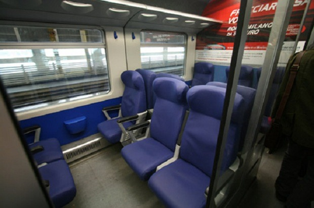 LEinterior4 thumb Leonardo Express – The Trenitalia Nonstop Train to the Fiumicino (FCO) Airport