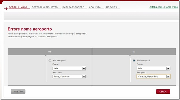 Alitalia Italian Site input airports thumb Save Money By Booking Alitalia Flights <em>Like a Local</em>
