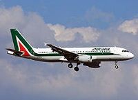 Alitalia flying Airlines
