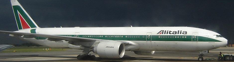 Alitalia parked2