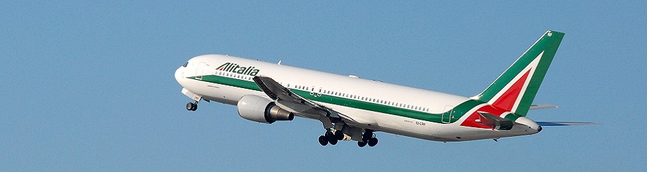 127 Header - Alitalia landing