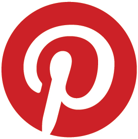 Pinterest Logo Traveling from Rome to Civitavecchia