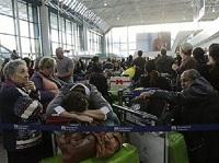 fco chaotic Leonardo da Vinci Airport
