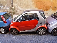 Auto Parking Driving in Italy